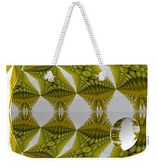 Abstract Tunnel Of Yellow Grapes  Weekender Tote Bag