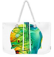 Abstract Violin Art By Sharon Cummings Weekender Tote Bag by Sharon Cummings