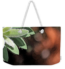 Weekender Tote Bag featuring the photograph Abstract Watercolor by Judy Vincent