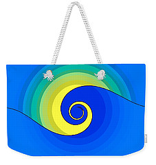 Abstract Wave In The Sunlight  Weekender Tote Bag