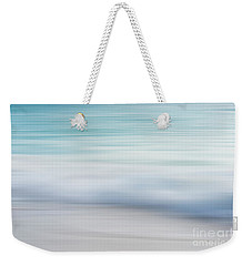 Weekender Tote Bag featuring the photograph Abstract Wave Photograph by Ivy Ho