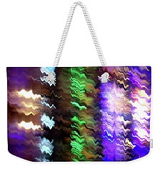 Abstract Waves Of Emotion #0609_24 Weekender Tote Bag by Barbara Tristan