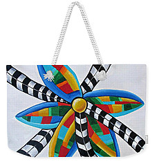 Abstract Windmill  Weekender Tote Bag