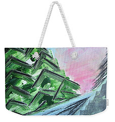 Abstract Winter Landscape Weekender Tote Bag