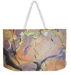 Abstract Woman Weekender Tote Bag by Raymond Doward