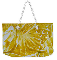 Abstract Yellow  Weekender Tote Bag