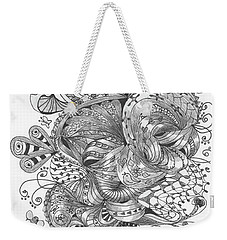 Abstract2 Weekender Tote Bag
