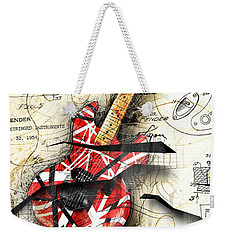Abstracta 35 Eddie's Guitar Weekender Tote Bag