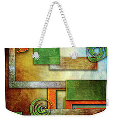 Abstraction 2 Weekender Tote Bag