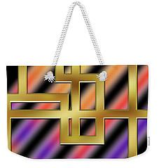 Abstraction 8 Weekender Tote Bag