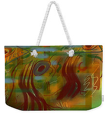 Abstraction Collect 5 Weekender Tote Bag