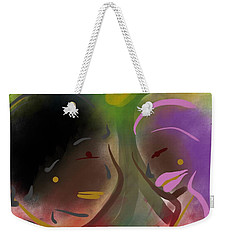 Fro Abstraction 1 Weekender Tote Bag