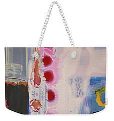 abstraction, fire in the Chakras Weekender Tote Bag