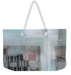 Weekender Tote Bag featuring the digital art Abstractitude - C7 by Variance Collections