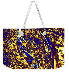 Weekender Tote Bag featuring the digital art Abstractmosphere 3 by Will Borden