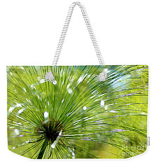 Abstrct Grass Weekender Tote Bag