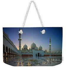 Abu Dhabi Grand Mosque Weekender Tote Bag by Ian Good