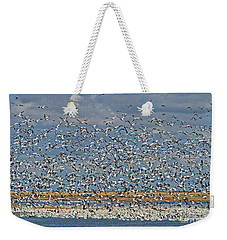 Weekender Tote Bag featuring the photograph Abundance.. by Nina Stavlund