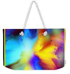 Celestial Rhythm Weekender Tote Bag