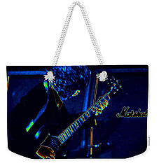 Ac Dc Electrifies The Blues Weekender Tote Bag