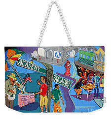 Academy And Broadway Weekender Tote Bag by Cole Thompson