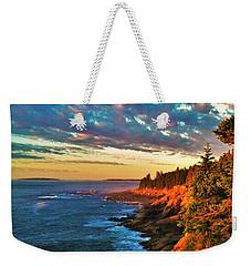 Acadia At Dawn Weekender Tote Bag