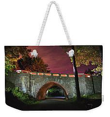 Acadia Carriage Bridge Under The Stars Weekender Tote Bag