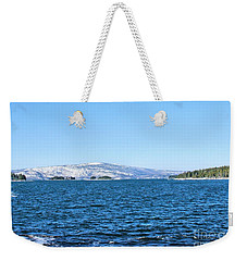 Weekender Tote Bag featuring the photograph Acadia  by Debbie Stahre