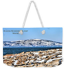 Weekender Tote Bag featuring the photograph Acadia National Park by Debbie Stahre