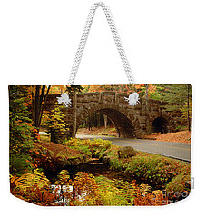 Acadia Stone Bridge Weekender Tote Bag