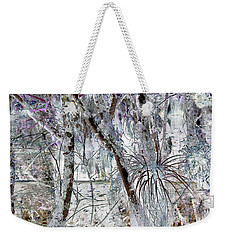 Accentuating The Negative Weekender Tote Bag