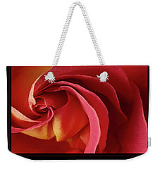 Weekender Tote Bag featuring the photograph Acceptance 1 by Mary Jo Allen