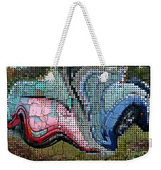 Accident Waiting To Happen Weekender Tote Bag by Kathie Chicoine