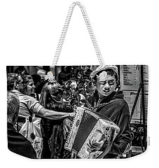 Accordion Player Weekender Tote Bag