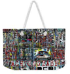 Achtung Baby Weekender Tote Bag