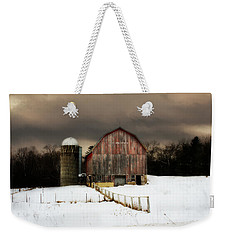 Acorn Acres Weekender Tote Bag by Julie Hamilton