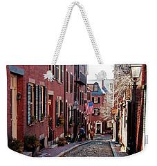 Acorn Street Beacon Hill Weekender Tote Bag