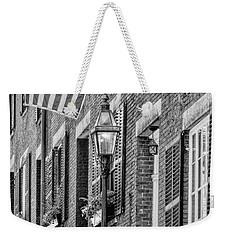 Acorn Street Details Bw Weekender Tote Bag
