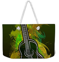 Acoustic Craze Weekender Tote Bag