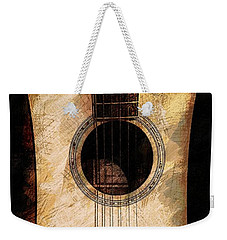 Acoustic Design Weekender Tote Bag