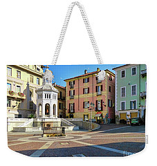 Weekender Tote Bag featuring the photograph Acqui Terme...italy by Jennie Breeze