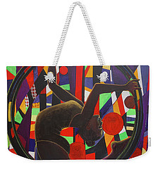 Acrobat In Ring Weekender Tote Bag