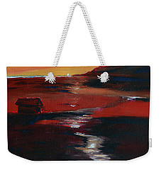 Across Amber Fields To The Sea Weekender Tote Bag by Donna Blackhall