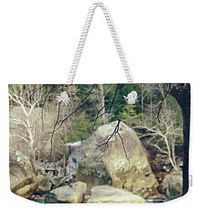 Across From Eagle Falls Weekender Tote Bag