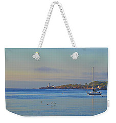 Across The Bay Weekender Tote Bag