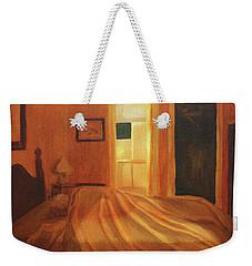 Across The Bed Weekender Tote Bag