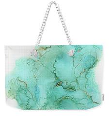 Across The Blue Sky Weekender Tote Bag