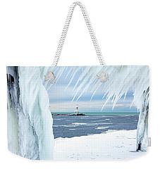 Across The Channel Weekender Tote Bag