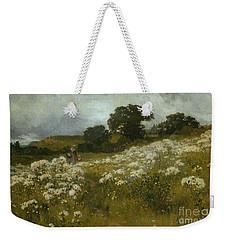 Across The Fields Weekender Tote Bag