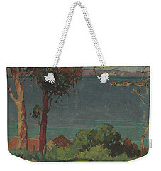 Across The Firth Of Thames Weekender Tote Bag